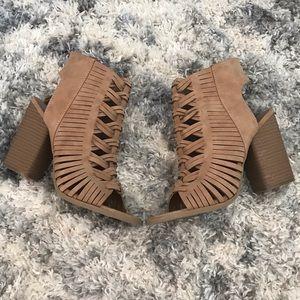 Target tan heels
